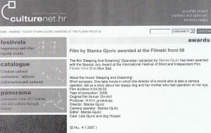 Filmski front, Novi Sad