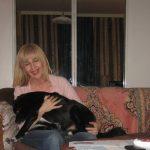 Stanka Gjuric with Rex