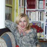 Stanka Gjuric at home in Zagreb